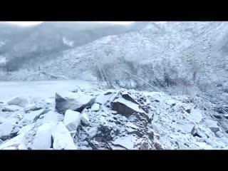 Последствия падения метеорита в Хабаровском Крае.