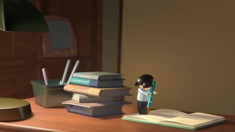 ✔Лень учиться Поучительный Короткометражный мультфильм