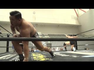 Kazusada Higuchi vs. Yuki Ino (DDT - Road to Ryogoku 2018 ~ Dramatic Dream Tor no Shiun)