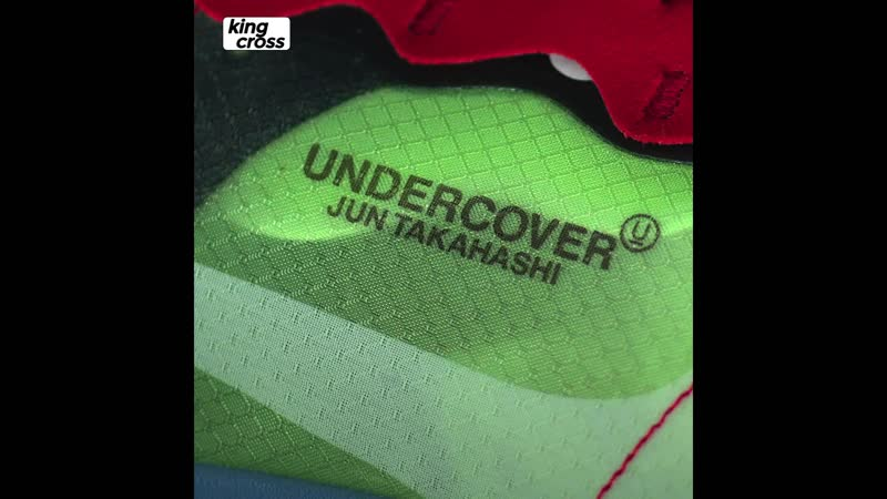 📹 Краткий обзор кроссовок Nike x Undercover React Element 87