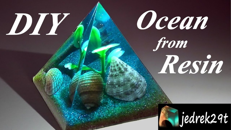DIY Ocean from Resin Ocean z Żywicy