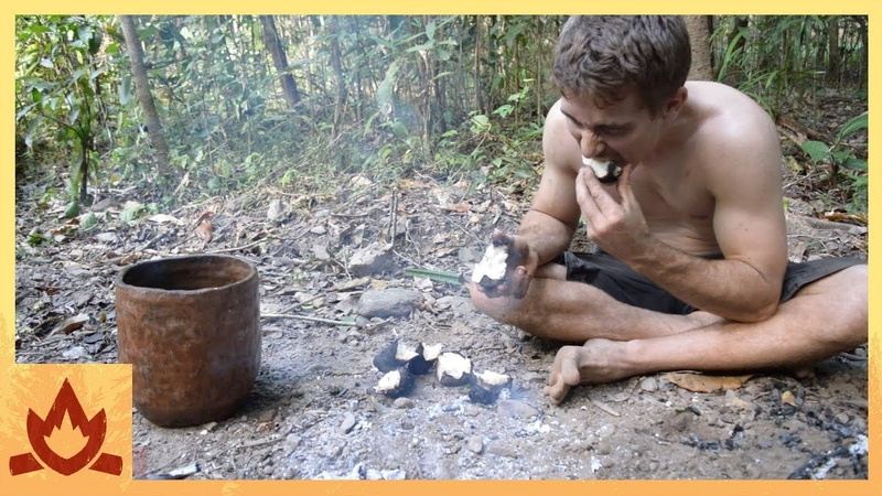 Primitive Technology: Yam, cultivate and cook