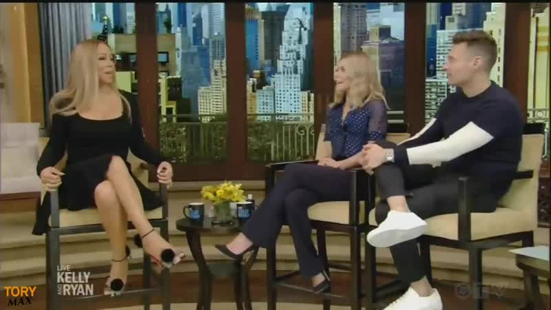 Mariah Carey interview on new album Caution (Live with Kelly and Ryan 21 November 2018)