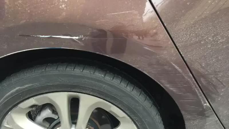 Защита Ceramic Pro спасла автомобиль от покраски