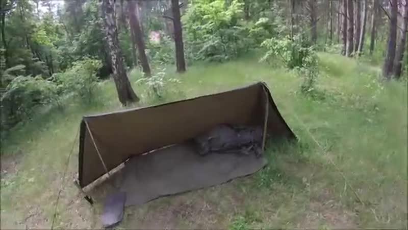 Австрийская-плащ-палатка-Österreich-BH-Zelt-mit-Zubehor-(часть-первая)
