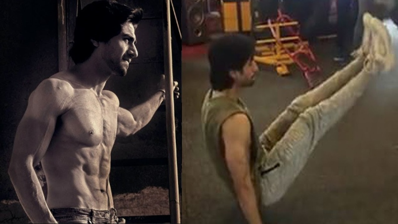 Harshad Chopra WORKOUT Video || TV Stars Workout Video