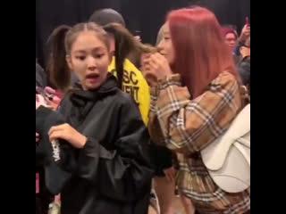 Jennie's face