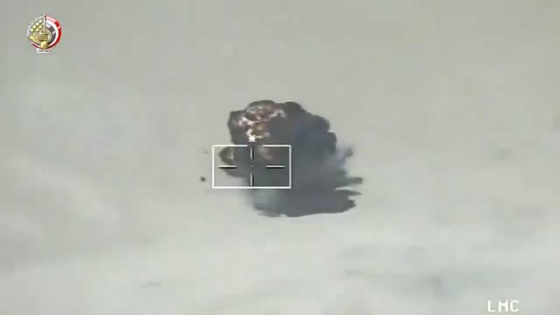 Работа ВВС Египта на Синае