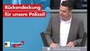 Lars Herrmann: Rückendeckung für unsere Polizei! - AfD-Fraktion im Bundestag