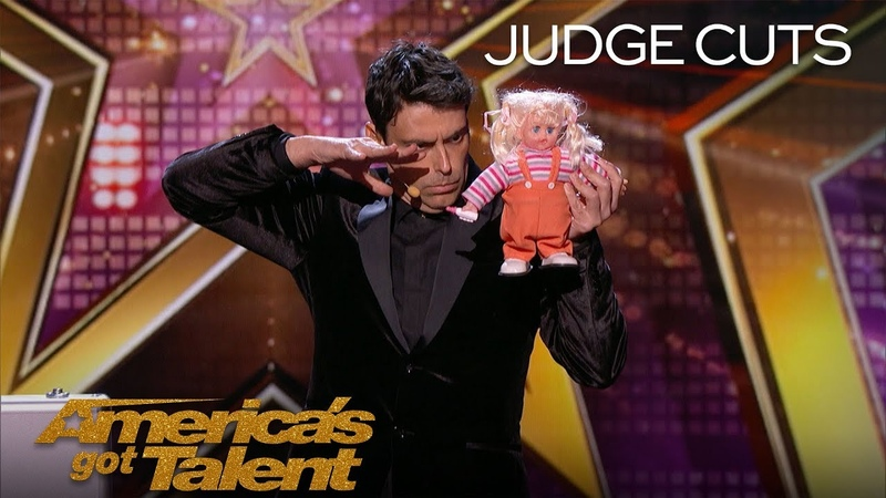 Lioz Shem Tov You've NEVER Seen Magic Like This Before America's Got Talent 2018 смотреть онлайн без регистрации