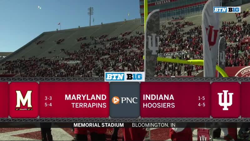 NCAAF 2018 / Week 11 / Maryland Terrapins - Indiana Hoosiers / 1H / EN