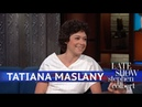 Before Tatiana Maslany Was An Emmy Winner, She Was 'Mouse' 25.07.2018