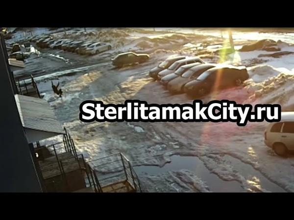 На Хвойной,12 в Стерлитамакском районе с начала года второй мужчина выпал с балкона