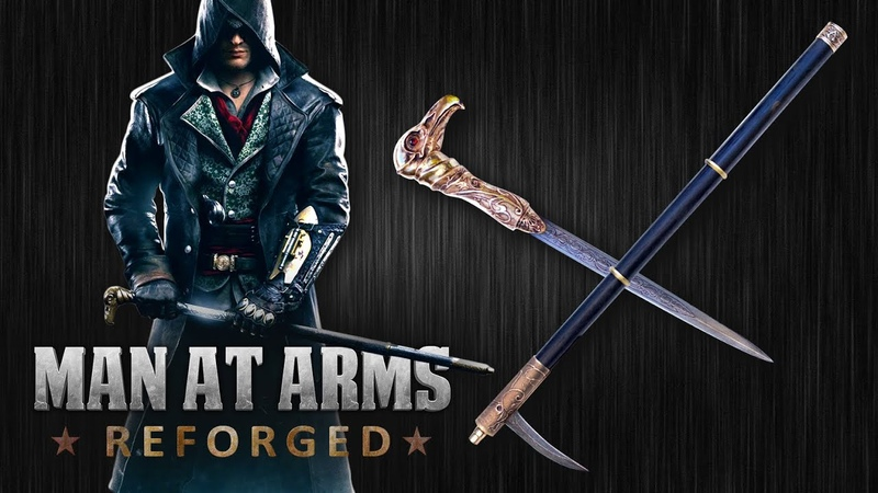 Jacob's Cane Sword Assassin's Creed Syndicate Man At Arms Reforged