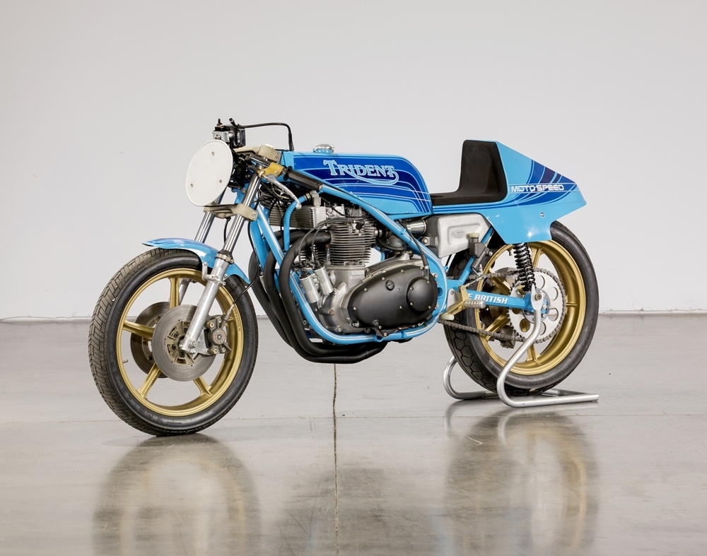 Гоночный мотоцикл Triumph Trident Formula 750 Rob North