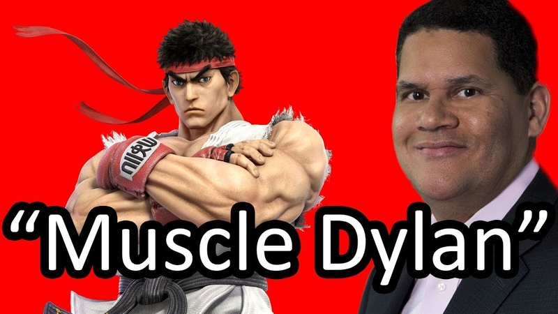 Reggie guesses the names of Smash Bros characters