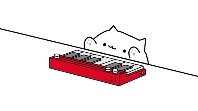 Bongo Cat knows only 5 notes but still fire asf (2) coub