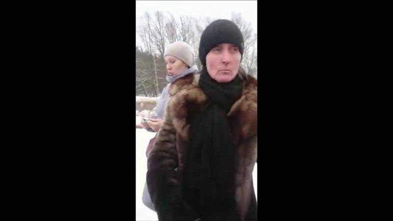 Сход жителей пос Привокзальный в защиту ДК Космос 30 01 2019