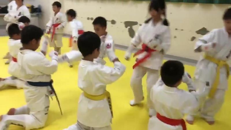Japan Monday of Budo kids