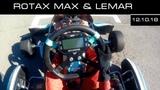 Тест Rotax max на картодроме Lemar