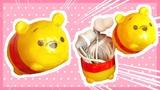 DIY Tsum tsum Pooh Earphone Case Kinder Surprise Egg CC FOR ENGLISH