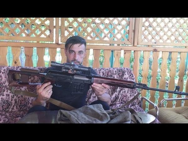 Сборка разборка МП СВД 7 62х54мм Disassembly Assembly SVD 7 62x54mm sniper rifle