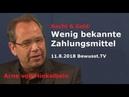 Wenig bekannte Zahlungsmittel - Arne von Hinkelbein | 11.8.2018