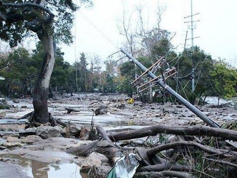 В Калифорнии ливни привели к разрушительным оползням и наводнениям | Russian America TV