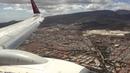 Norwegian 737-800 landing to Gran Canaria Airport
