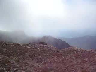 Яйла Караби. Ветер на высоте 1100 метров