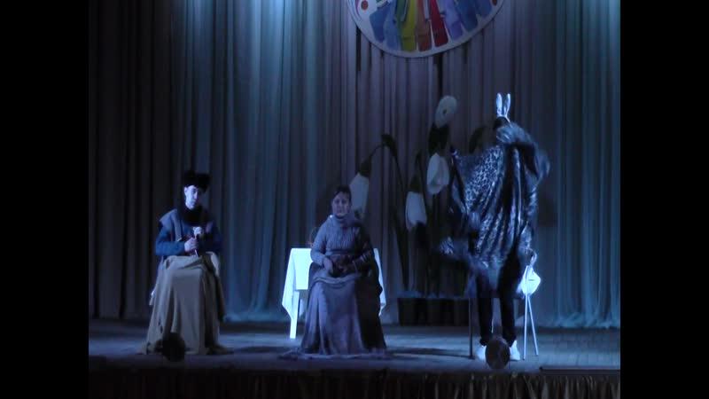 театральный коллектив Вдохновение, отрывок из произведения Ёжик в тумане
