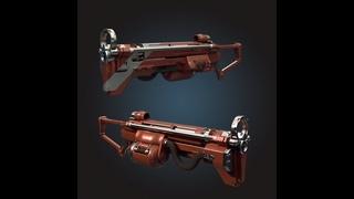 Gun design for Neon Giant