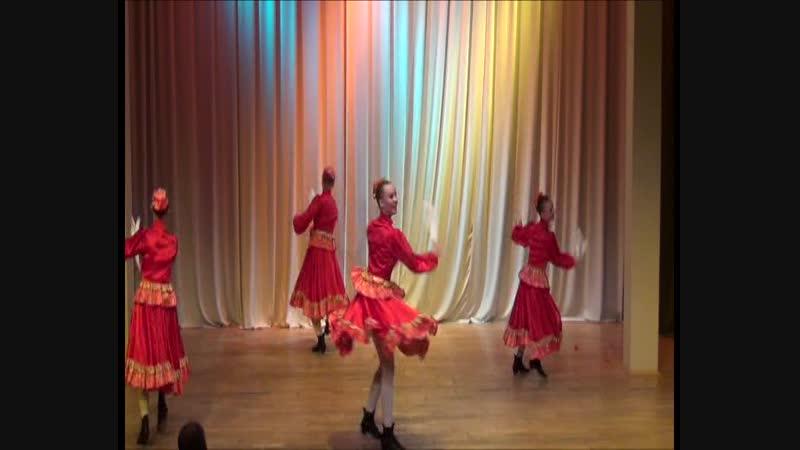 Казачья сюита (жен., мл., общ.) (Отчетный концерт, 2014)