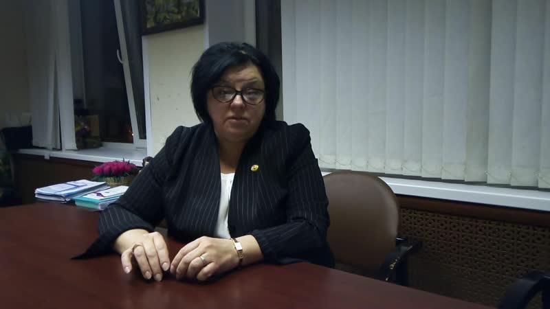 Министр образовния и науки Н.В.Семенова по ситуации с димитровградской школой №10