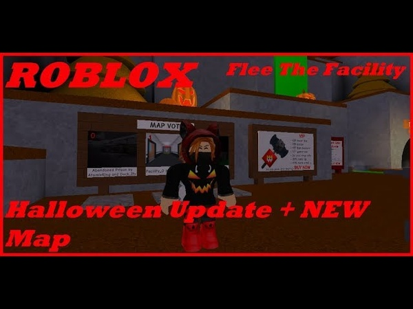 ROBLOX. Flee The Facility. Halloween Update NEW Map