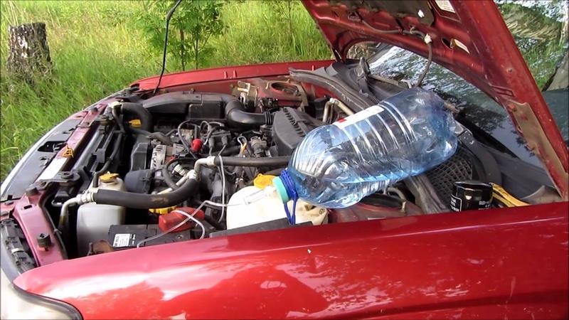 Раскоксовка гидроперитом Subaru Forester SG EJ251
