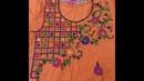 Hand Embroidery New Dorri design New cut design