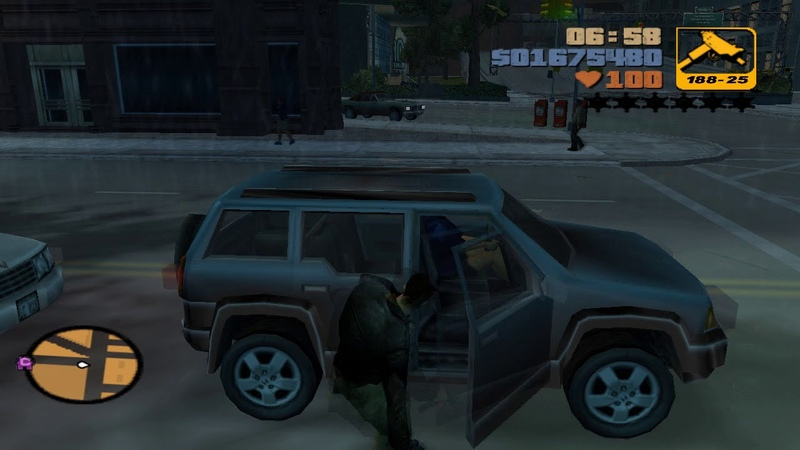 Grand Theft Auto III — 71 'A Ride In The Park'