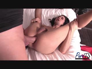 Жестокий анал - fucking her boyfriend (porn, порно, транс, blowjob, tranny, транссексуал, shemale, ladyboy, ts, sex anal, анал)