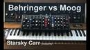 Behringer vs Moog: The definitive comparison