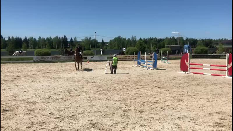KK pony land 19.5.19 Никишина Карина на Палисаде ,80см