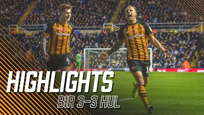 Birmingham City 3-3 Hull City   Highlights   Sky Bet Championship