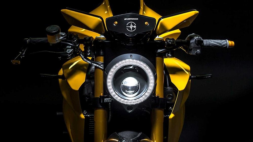 Электроцикл Energica E-Bolide