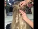 Пышная причёска в греческом стиле с винтовыми шпильками