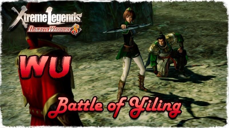 Story Mode ◄ Dynasty Warriors 8 ► Wu 24 Battle of Yiling