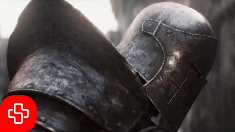 Templar chant: Media vita in morte sumus (Lyric video)