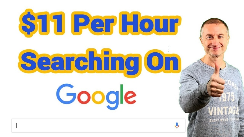 Make $11 An Hour Searching On Google Get Paid To Search Google For Beginners