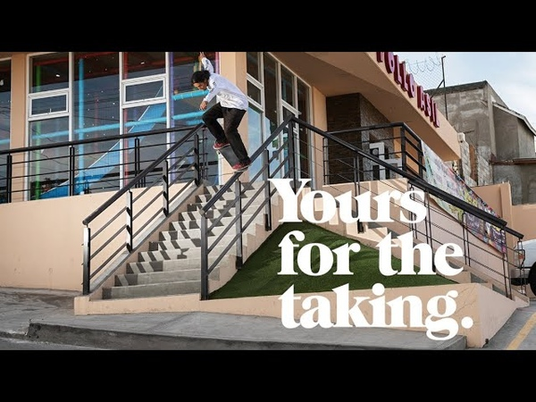 DC SHOES ALEXIS RAMIREZ YOURS FOR THE TAKING