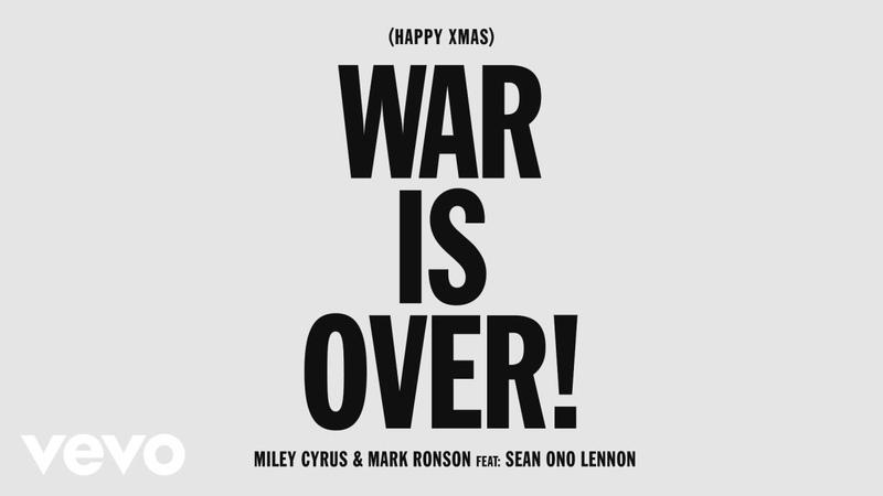 Miley Cyrus, Mark Ronson - Счастливого Рождества (Война окончена!)