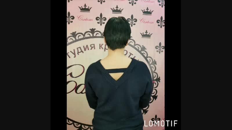 Капсульное наращивание волос на короткие волосы
